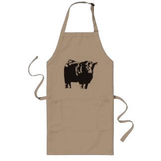 Bull Long Apron