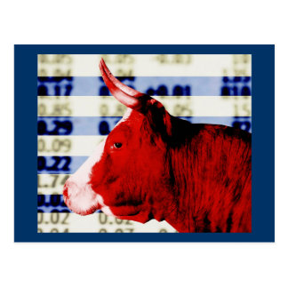 Bull Market Postcard