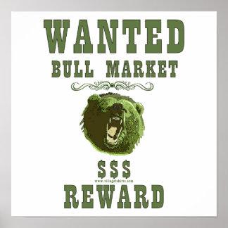 Bull Market Reward Posters