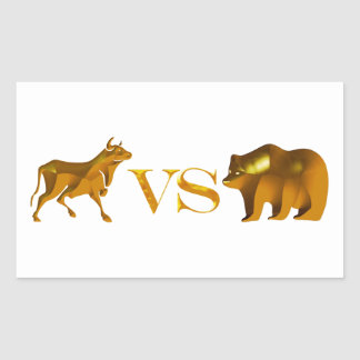 Bull Market Vs Bear Market Sticker