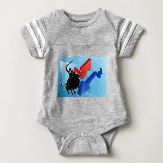 Bull Market Winner Concept Baby Bodysuit
