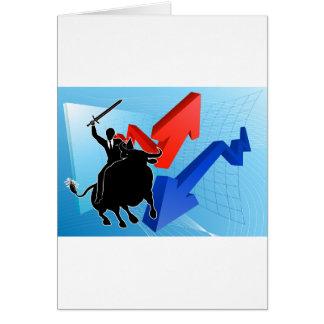 Bull Market Winner Concept Card