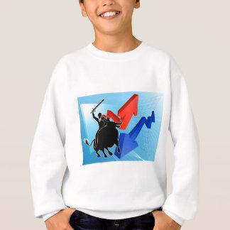 Bull Market Winner Concept Sweatshirt