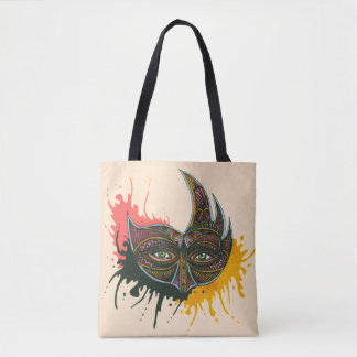 Bull Mask Tote Bag