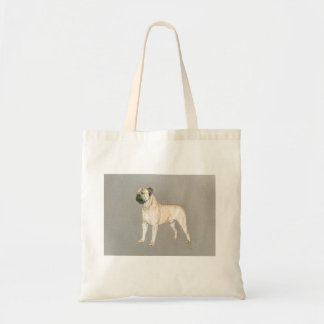 Bull Mastif Tote Bag