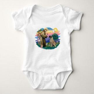 Bull Mastiff Baby Bodysuit