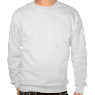 Bull moose art pull over sweatshirts