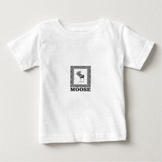 bull moose in a box baby T-Shirt
