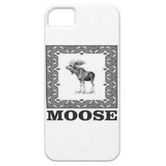 bull moose in a box iPhone 5 case