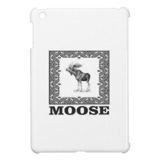 bull moose in a frame iPad mini case