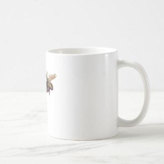 Bull Moose Looking Left Coffee Mug