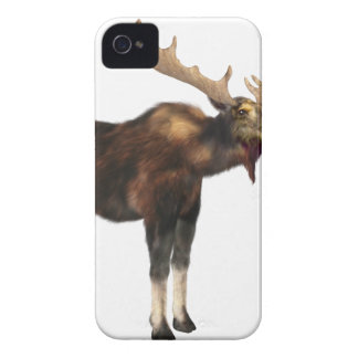 Bull Moose Looking Left iPhone 4 Cover