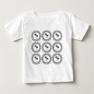 Bull Moose rings fun Baby T-Shirt