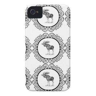 Bull Moose rings fun iPhone 4 Cover