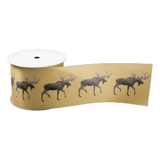 Bull Moose Satin Ribbon