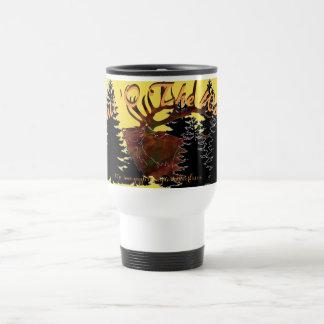 """Bull 'O The Woods"" Travel Mug"