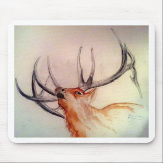 BULL OF THE WOODS STRENGTH ELK MOUSE PAD