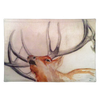 BULL OF THE WOODS STRENGTH ELK PLACEMAT