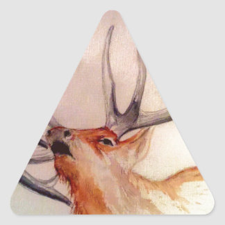BULL OF THE WOODS STRENGTH ELK TRIANGLE STICKER