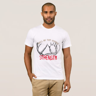 BULL OF THE WOODS STRENGTH T SHIRT