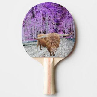 Bull Ping Pong Paddle