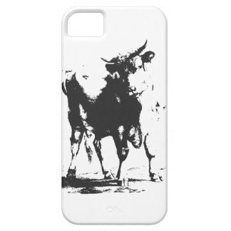 Bull Pop Art Case For The iPhone 5
