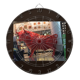 Bull Power Red Furious Animal Fighting Fit Friend Dart Board