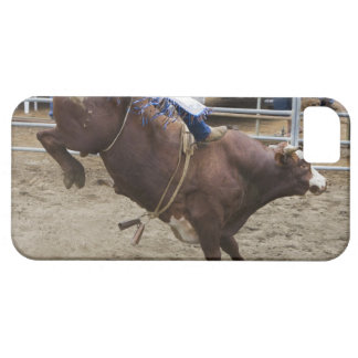 Bull rider at rodeo iPhone 5 case