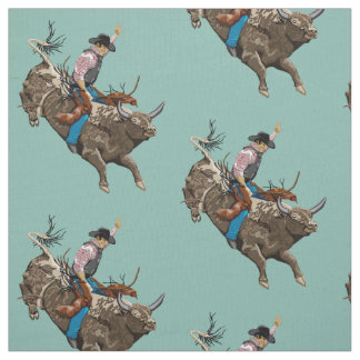 Bull rider fabric