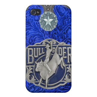 """Bull Rider"" Western Rodeo IPhone 4 Case"