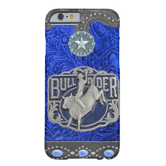 """""""Bull Rider"""" Western Rodeo iPhone 6 case"""