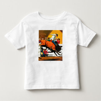 Bull Riding by Fred Ludekens Toddler T-shirt