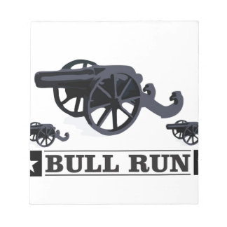 bull run guns notepads