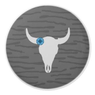 bull skull Knob