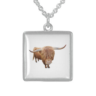 Bull Sterling Silver Necklace