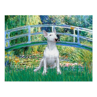Bull Terrier 1 - Bridge Postcard