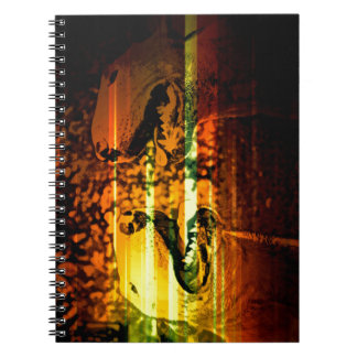 Bull terrier brothers spiral notebook