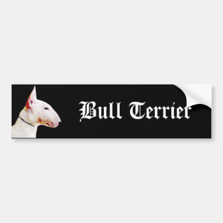 Bull Terrier bumper sticker