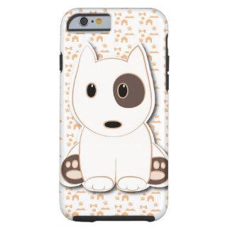 Bull terrier cute puppy tough iPhone 6 case