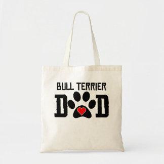 Bull Terrier Dad Tote Bag