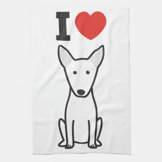 Bull Terrier Dog Cartoon Towels