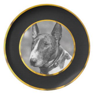 Bull Terrier dog Dinner Plate