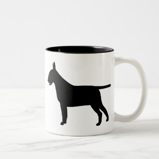 Bull Terrier Gear Two-Tone Coffee Mug