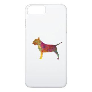 Bull terrier in watercolor iPhone 8 plus/7 plus case