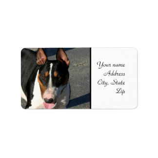 Bull Terrier Label