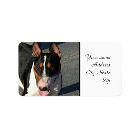 Bull Terrier Label