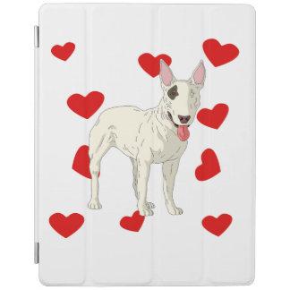 Bull Terrier Love iPad Cover