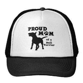 BULL TERRIER MOM TRUCKER HAT