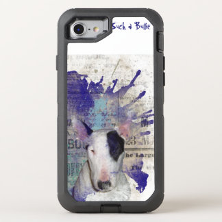 Bull Terrier News Splash OtterBox Defender iPhone 7 Case