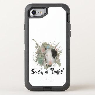 Bull Terrier News Splash OtterBox Defender iPhone 8/7 Case